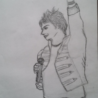 My Chemical Romance-Gerard Way sketch