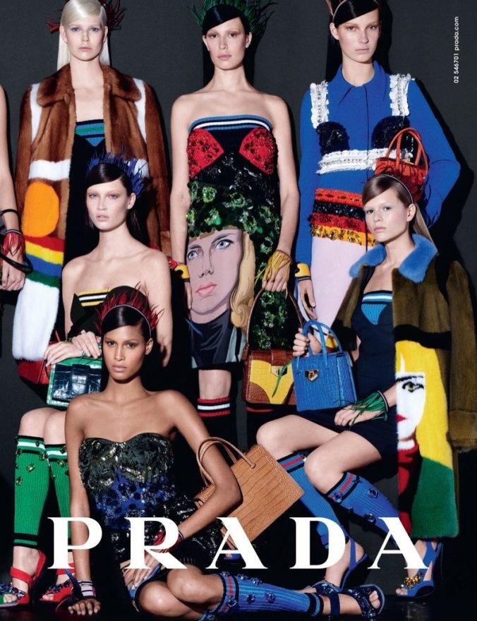 Prada-SpringSummer-2014-Campaign-by-Steven-Meisel