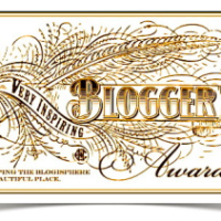 The VERY INSPIRING BLOGGER AWARD goes to...me!