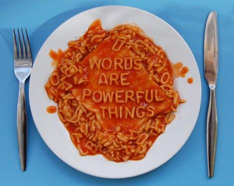 words-blue