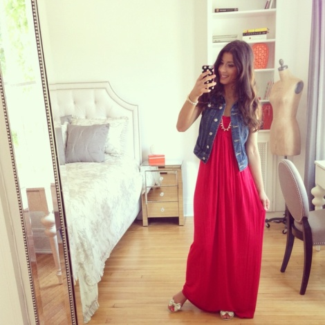 maxidress via pinterest